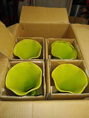 Green vase for Sale in Savannah, GA