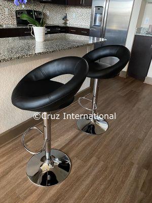 New 2 black bar stools for Sale in Orlando, FL