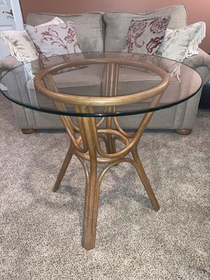 Glass End Table for Sale in Brockton, MA