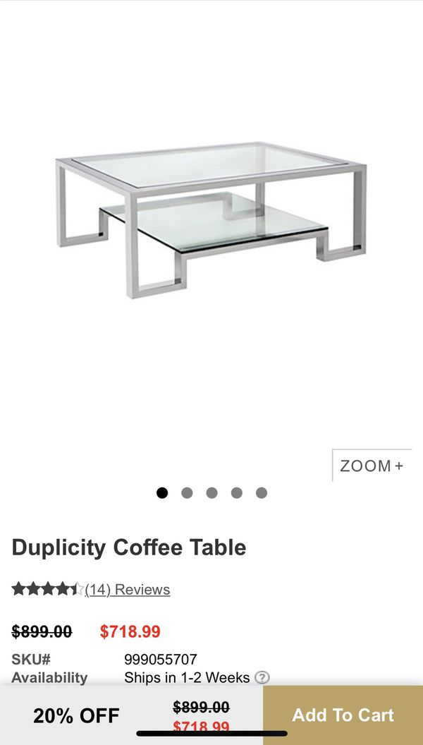 Coffee Table, Z Gallerie