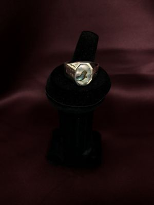 Men's Sterling Silver Mother Pearl Ring. for Sale in Lewisville, TX