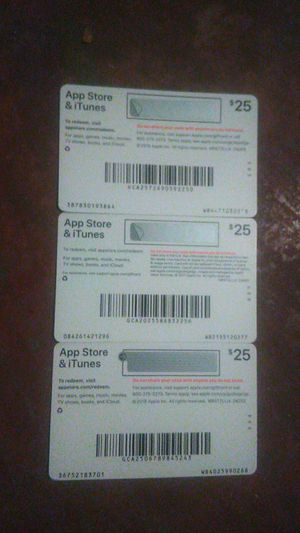 App Store & iTunes cards for Sale in Tampa, FL