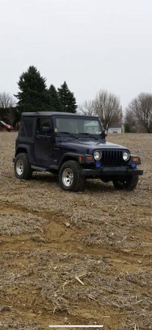 1997 wrangler Jeep for Sale in Lenhartsville, PA