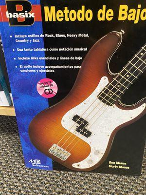 Spanish bass guitar method for Sale in Albuquerque, NM