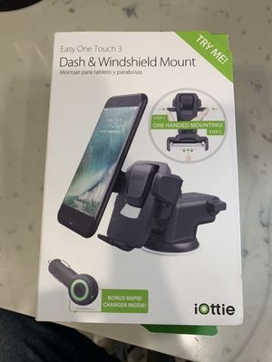 iOttie HLCRIO120SM Easy One Touch 3 Dash & Windshield Car for Sale in Long Beach, CA