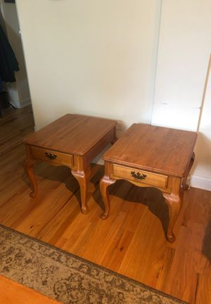 Vintage Wood End Tables for Sale in Chicago, IL