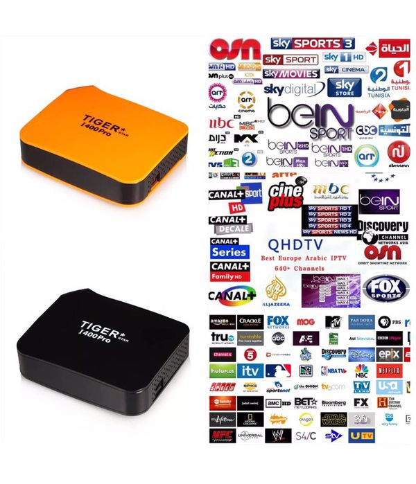 Tiger Iptv Arabic, USA, European, African, Asian, Latin international  channels and movies for Sale in FL, US - OfferUp