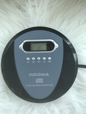 Insignia CD digital audio 60 second anti-shock protection for Sale in MENTOR ON THE, OH