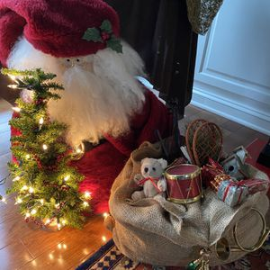 Santa Clause With Light Up Tree And Sack Of Toys for Sale in Mechanicsburg, PA