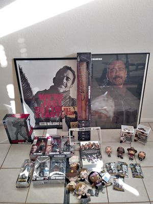 Huge Walking Dead collectable lot for Sale in Gilbert, AZ