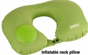Inflatable neck pillow for Sale in San Fernando, CA