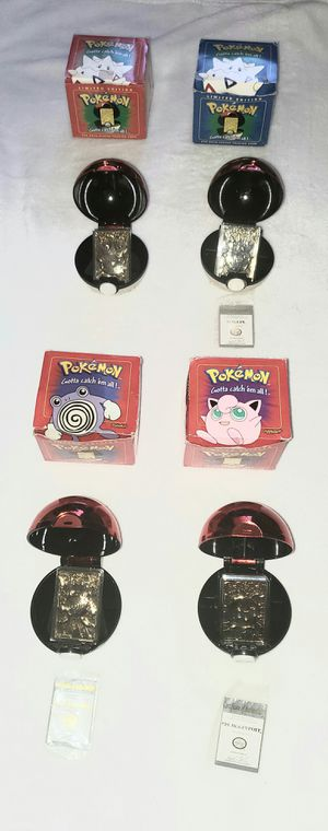 POKEMON 24K GOLD PLATED 1999 COLLECTORS CARDS FOR $5 EACH ONLY POLIWHIRL & RED BOX TOGEPI AVAILABLE for Sale in Las Vegas, NV