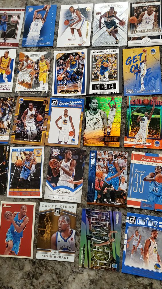 Lot of 40 Kevin Durant Thunder/Warriors ALL FOR $30