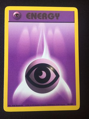 (Pokemon Cards) Psychic Energy for Sale in San Diego, CA