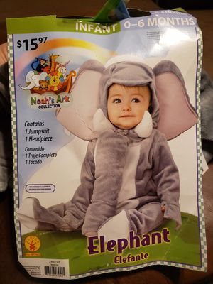 Infant elephant costume for Sale in Grand Prairie, TX