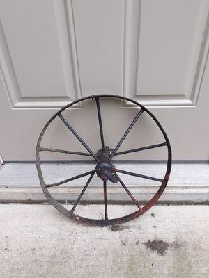 "Antique 16"" Iron Wheel for Sale in Washington, IL"
