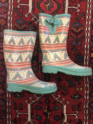 Cute Rain boots size 9 for Sale in MONARCH BAY, CA