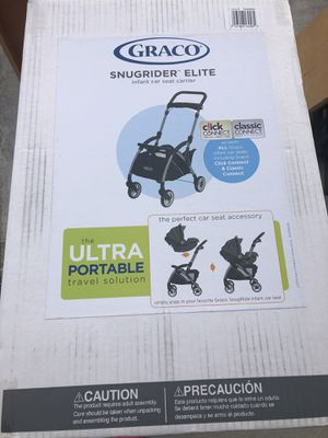Graco snugrider elite car seat carrier for Sale in Pacifica, CA