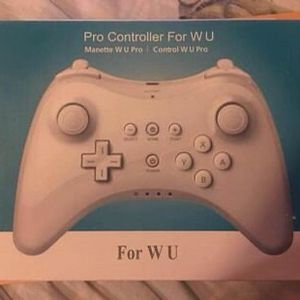 Wireless Remote Gamepad Controller For Nintendo Wii U Pro for Sale in Long Beach, CA