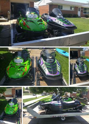 Arctic Cat snowmobiles for Sale in Roseville, MI