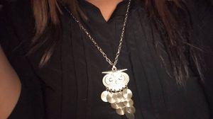 owl necklace for Sale in Santa Clarita, CA