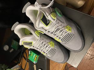 Jordan Retro 4 Neon 5.5Y for Sale in Hazelwood, MO
