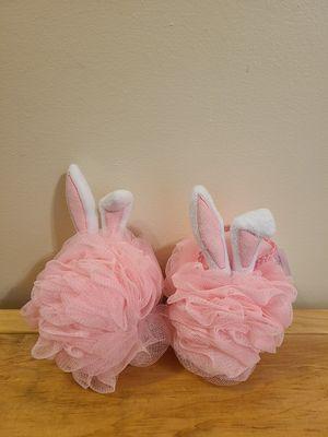 Bath and Body Works Bunny Loofah Set for Sale in Fairfax, VA