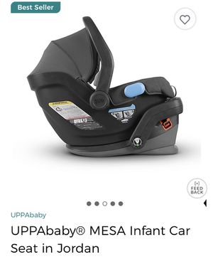 UPPA baby MESA car seat for infants - gray for Sale in Queens, NY
