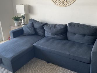 Sleeper Sofa And Chaise With Storage Underneath for Sale in Miami,  FL