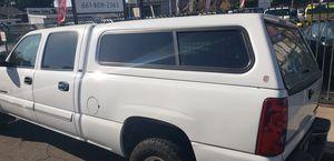 Camper shell off 03 Chevy Silverado / GMC truck for Sale in Bakersfield, CA