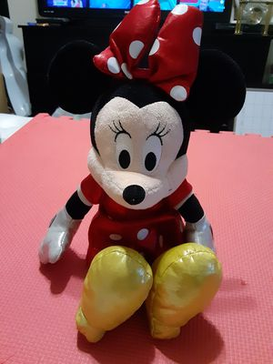 "Ty Disney Minnie Mouse Red Sparkle 15"" Medium Plush Stuffed Animal for Sale in Lehigh Acres, FL"