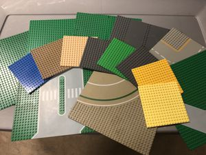 Lots of LEGO baseplates for Sale in Raleigh, NC