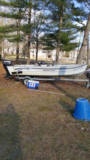 16 ft smoker craft for Sale in East Windsor, NJ