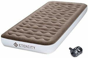 """Etekcity Upgraded Camping Air Mattress, Queen Twin Airbed Height 9"""", Inflatable Bed Blow for Sale in Fullerton, CA"""