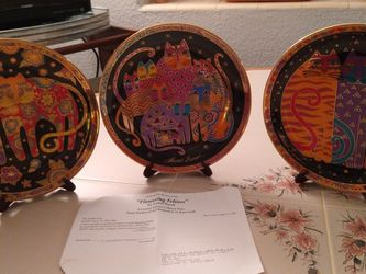 Franklin Mint Collectable Laurel Burch Plates for Sale in Orlando,  FL