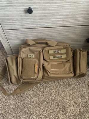 Tactical diaper bag by tactical baby gear for Sale in Santa Clara, CA