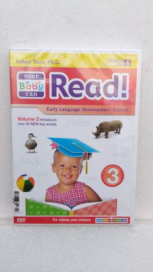 NEW YOUR BABY CAN READ DVD VOL. 3 !!! for Sale in Las Vegas, NV