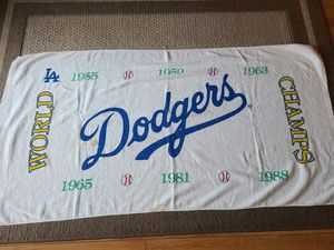 Dodgers World Champion towel for Sale in Los Angeles, CA