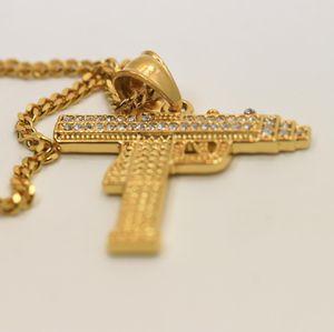 Gold Finish Gun Pendant 💧 for Sale in Dallas, TX