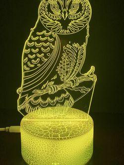 Beautiful Owl 🦉 3d Lamp for Sale in Las Vegas,  NV