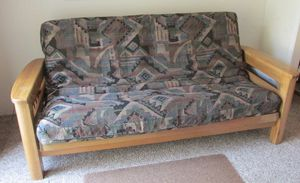 Large Futon sofa bed for Sale in Lathrop, CA