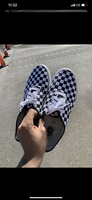 Vans CheckerBoard Low, Size 11 for Sale in Philadelphia, PA