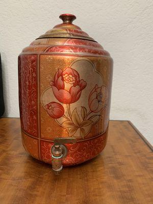 Copper Water Pot Dispenser Matka Water Tank Water Storage approx 6 Liters capacity for Sale in Phoenix, AZ