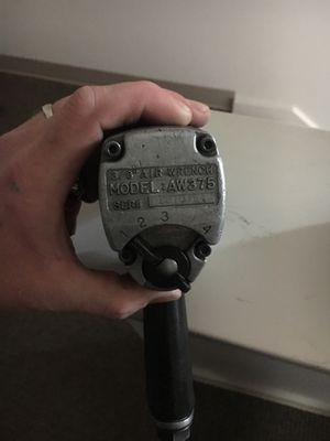 Mac Tools air wrench 3/8 for Sale in Eugene, OR