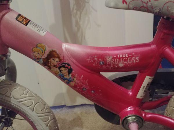 Princess bike, almost brand new.