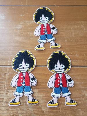 One Piece 6 patch set new 4in x 2in Iron On for Sale in Los Angeles, CA