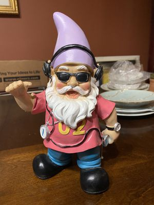 Hand painted ceramic gnome for Sale in Isanti, MN