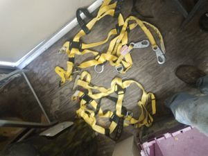 Miller safety harness . 2 sets of harness. for Sale in Marksville, LA