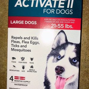 """TevraPet Activate II for Large Dogs 21-55 lbs, 4 doses"""" for Sale in Westerly, RI"""