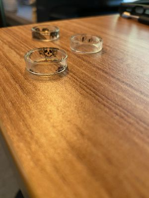 Clear rings for Sale in Clovis, CA